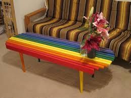 hippie coffee table makeover coocookachoo