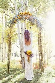 wedding arch lace 31 charming woodland wedding arches and altars crazyforus