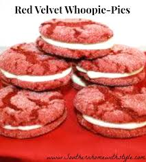 a twist to whoopie pies red velvet cake cookies with cream cheese