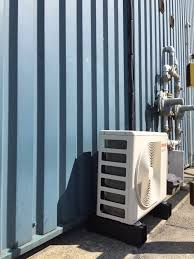 installation of a toshiba server room air conditioning system for