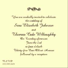 Unique Wedding Invitation Wording Funny Wedding Invitation Wording From Bride And Groom Template