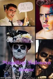 maquillage gothique homme les 20 meilleures idées de la catégorie maquillage halloween sur