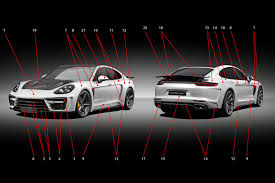 Porsche Panamera Modified - body tuning for porsche panamera 971 stingray gtr edition topcar