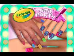crayola nail party u2013 a nail salon experience ipad app demo for