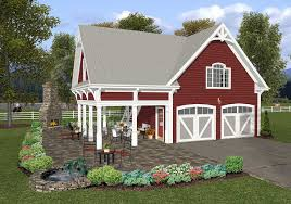 Garage Plan With Apartment by Carriage House Plan With Elbow Room 20055ga Architectural