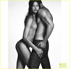 irina shayk nude pictures irina shayk strips down completely for givenchy ad campaign photo