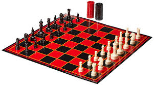 amazon com chess checkers backgammon set toys u0026 games