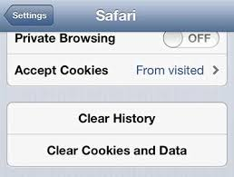 clear cookies how to clear your cookies in the iphone 5 safari browser solve