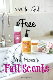 Fall Scents Free Mrs Meyer U0027s Fall Scents From Grove Collaborative The Mom