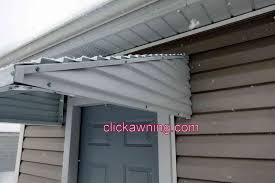 12 Awning 46 X 36 X 12 White Aluminum Awning Clickawning Com