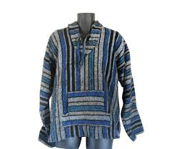 baja sweater baja hoodie rug baja pullover hippie hoodie baja jacket