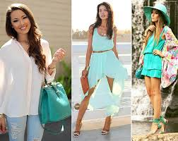 color tips to match clothing how to wear the aquamarine color trend fashionisers