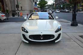2014 Maserati Granturismo Mc Convertible Sport Stock Gc1772 For