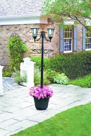 Backyard Light Post by Sunergy Solar Lamp Post With Planter Base 50400356 Outdoor