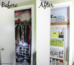green with decor u2013 how to organize a craft closet without spending
