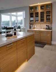 Bentwood Cabinetry Bamboo Cabinets Open Floor Plan Islands - Bamboo backsplash