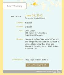 Save The Date Emails Wedding Planning Tools On