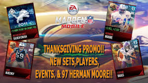 thanksgiving promo new sets players events 97 herman