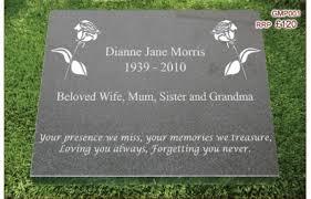 grave plaques granite memorial plaques
