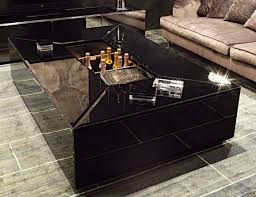 Black Modern Coffee Table Visionnaire Pelleas Black Coffee Table Modern Living Room