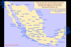 map of mexico cities cities in mexico