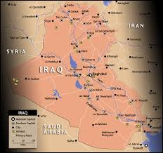 basra map map of iraq and of iraq and surrounding countries