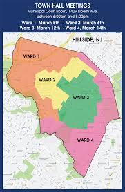 Garden State Parkway Map Township Of Hillside Hillside Nj Official Township Website