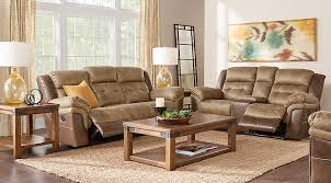 Chinese Bedroom Set Montiglio Brown 3 Pc Reclining Living Room Reclining Living