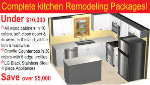 kitchen remodeling packages under 10000 in phoenix arizona