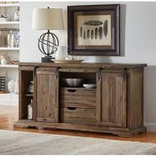 Solid Wood Buffet And Hutch Acacia Buffets Sideboards U0026 China Cabinets Shop The Best Deals