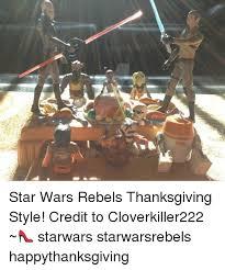 wars rebels thanksgiving style credit to cloverkiller222