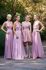 convertible bridesmaid dresses 45 mismatched convertible bridesmaid dresses hi miss puff