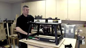 trend crt mk3 craftpro router table youtube