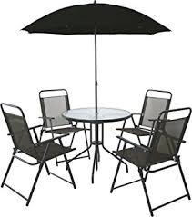 patio table with 4 chairs 4 seater outdoor garden furniture dining set round table chairs