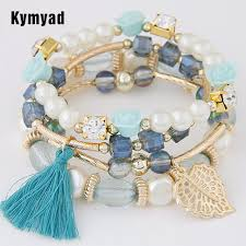 bracelet bead sets images Kymyad fashion design girl jewelry handmade bracelets sets for jpg