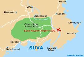 map of suva city map of suva nausori airport suv orientation and maps for suv