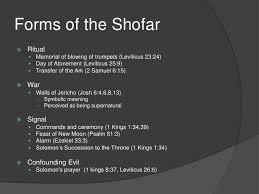 shofar mouthpiece the shofar a blast from the past