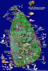 Tcnj Map خريطة سريلانكا الشاملة Map Of Srilanka الأرشيف شبكة الإسراء