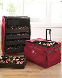 Christmas Decoration Storage Ideas Uk by Deluxe Rolling Bauble Chest Balsam Hill Uk