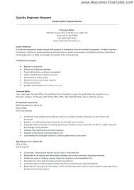 resume for quality assurance hitecauto us