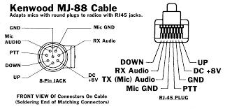 microphone wiring icom yaesu kenwood iz0kba