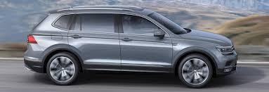 volkswagen models 2017 2017 vw tiguan 7 seater price specs release date carwow