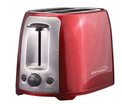 Red 2 Slice Toaster Toaster Brentwood Appliances