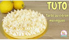 tarte au citron meringuée hervé cuisine recette tarte au citron meringuée pâte brisée meringue