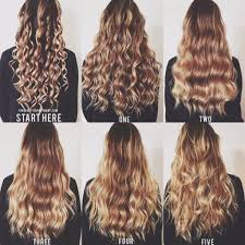 easy curling wand for permed hair best 25 types of curls ideas on pinterest different types of