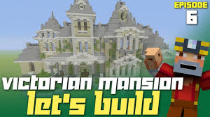 minecraft xbox one let u0027s build a victorian mansion part 6
