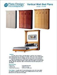 low cost diy murphy wall bed frame woodworking plans king queen