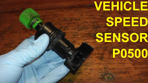 vehicle speed sensor p0500 replacement youtube