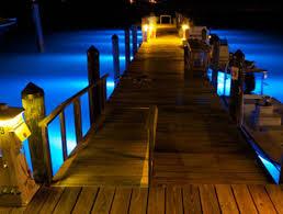 solar dock lights boat dock lights led lighting for marine docks and decks