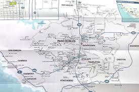 Cambria Map Paso Robles Anniversary Wine Tasting Trip Burbs2abroad